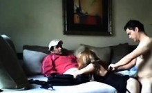 Amateur Blonde Wife Gangbang Party
