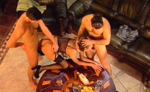 Magella Vintage Excited Anal double penetration