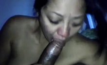 Interracial loving slut big black cock blowjob and fuck
