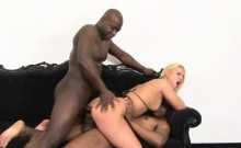 Linda Ray enjoys a few black boners