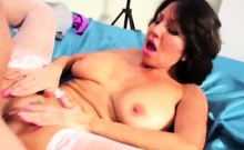 Cock Hungry Milf Fucks a Fat Dick