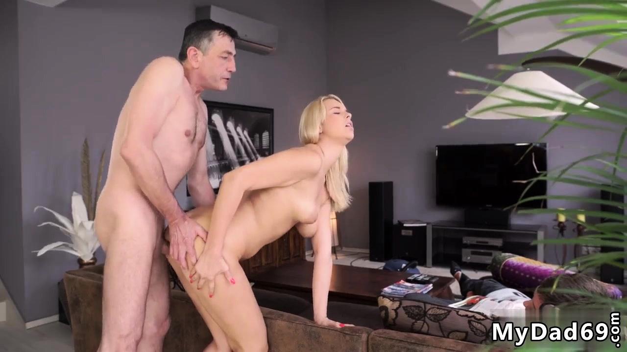 Mature women having sex outdoors