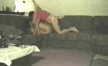Homemade Fucking Cheating Slut On Sofa