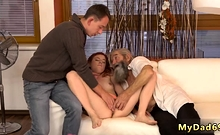 Old pinoy and guy girl first time Unexpected experience with