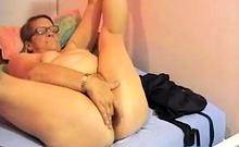 Granny at the webcam