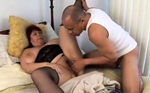 Bbw chick in stockings fucked hardcore in fat pussy