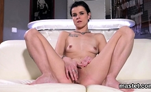 Naughty Czech Girl Spreads Her Narrow Vagina To The Unusual8