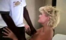 Horny Black Diva Gives Wet Interracial Blowjob On Pov