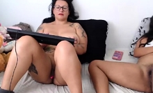 Horny old man fuck young amateur bbw homemade