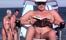 Hot Nude Beach Females Amateurs Voyeur Nudist Public Beach