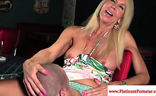 Erica Lauren mature rides his hard cock